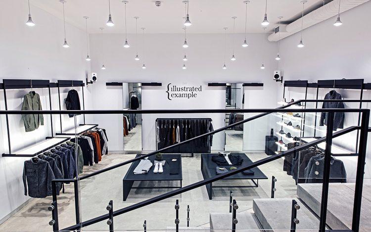 معماری داخلی مغازه