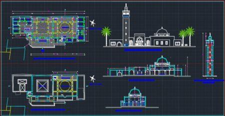 داللود رایگان پلان مسجد