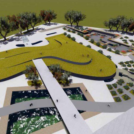 طرح 1 کارشناسی ارشد طراحی پلازای شهری با رویکرد احترام به طبیعت