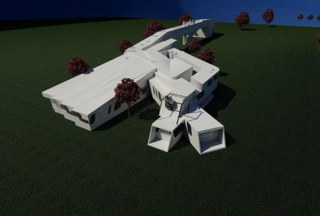 طرح معماری موزه جنگ و صلح
